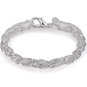 Mere Cuban Link Curb Charm Chain Bracelet